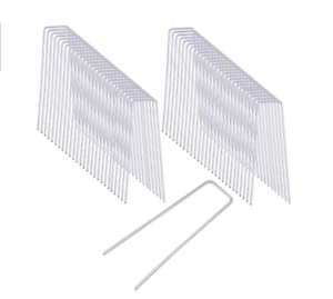 6-034-Landscape-SOD-Staples-Galvanized-Garden-Stakes-Weed-Barrier-Pins-50-pcs