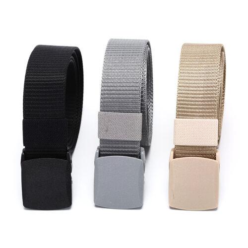 115cm Length Outdoor Military Tactical Belt Plastic Buckle Nylon Waist Belts HV
