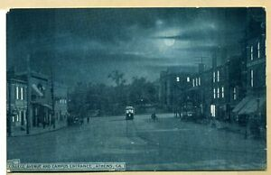 GA~GEORGIA~ATHENS~COLLEGE AVENUE & CAMPUS ENTRANCE~RARE~EARLY~PC7426