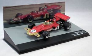 Lotus-Ford-72-C-Emerson-Fittipaldi-P6-Allemagne-GP-1971-F1-voitures-echelle-1-43