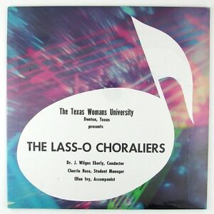 LASS-O CHORALIERS The Lass-O Choraliers LP STILL SEALED