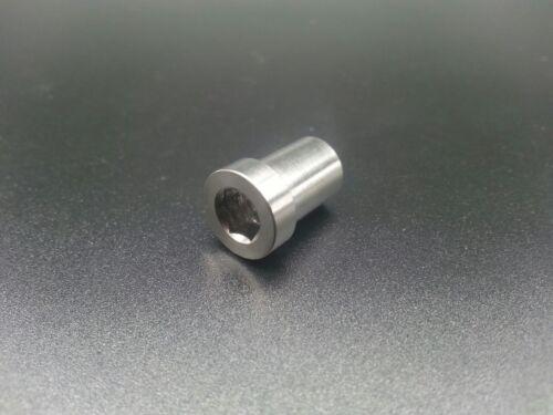 1pc New Bicycle Titanium Ti Recessed Bike Brake Bolt Nut 13mm