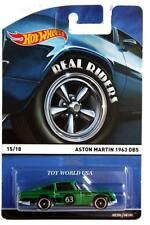 2015 Hot Wheels Real Riders #15 1963 Aston Martin DB5