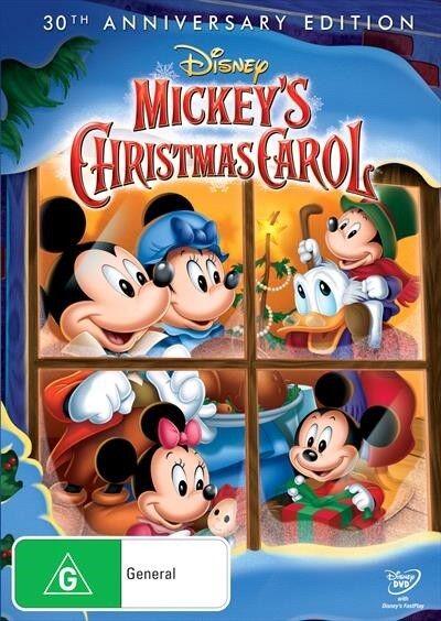 Mickey's Christmas Carol - 30th Anniversary Special Edition, DVD