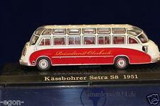 Atlas - Verlag DDR Auto 1:72 Modell Bus Kässbohrer Setra S8 1951