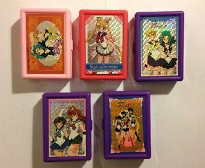 5 Boites De Rangement Sailor Moon