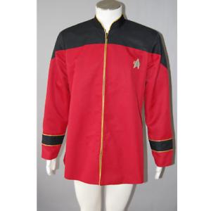 Star Trek TNG Admiral/'s Jacket Cosplay Costume Coat Outfit Halloween Suit