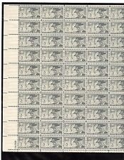 SCOTT#998,3C STAMP UNITED CONFEDERATE VETERANS FINAL REUNION SHEET OF 50 MNH OG