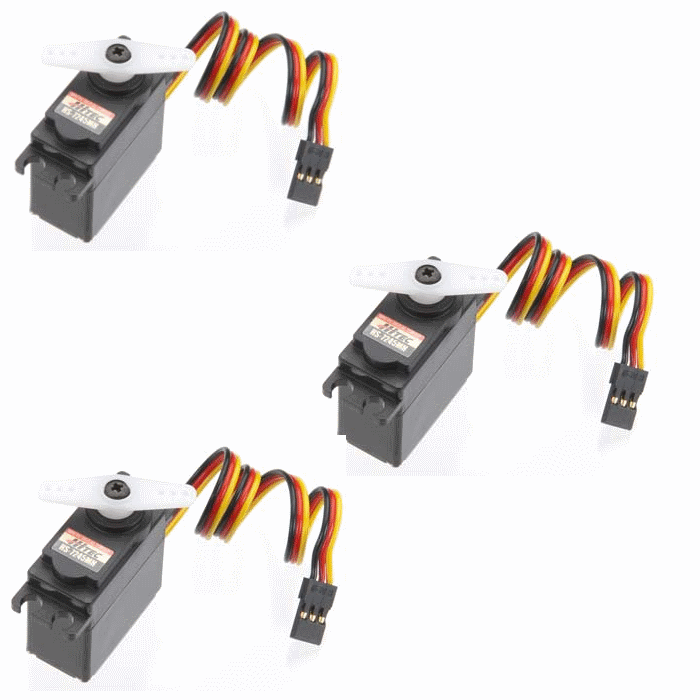 NEW Hitec HS-7245MH Mini Servo X3