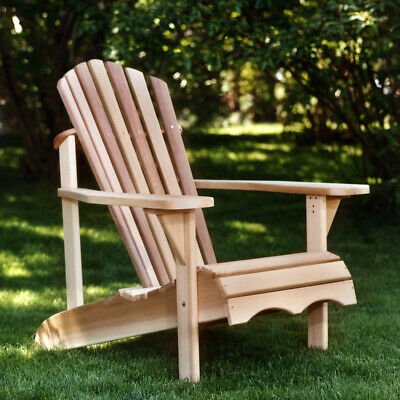 Premium Western Red Cedar Wood Adirondack Chair