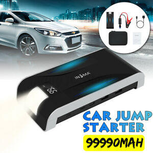 99990mAh-Car-Jump-Starter-Pack-Booster-LCD-4-USB-Charger-Battery-Power-Bank