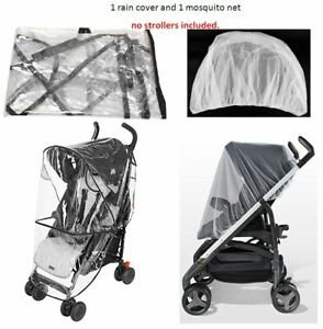 UPPABABY Cruz Baby Stroller Mosquito Insects Net Mesh White Shield Cover NEW