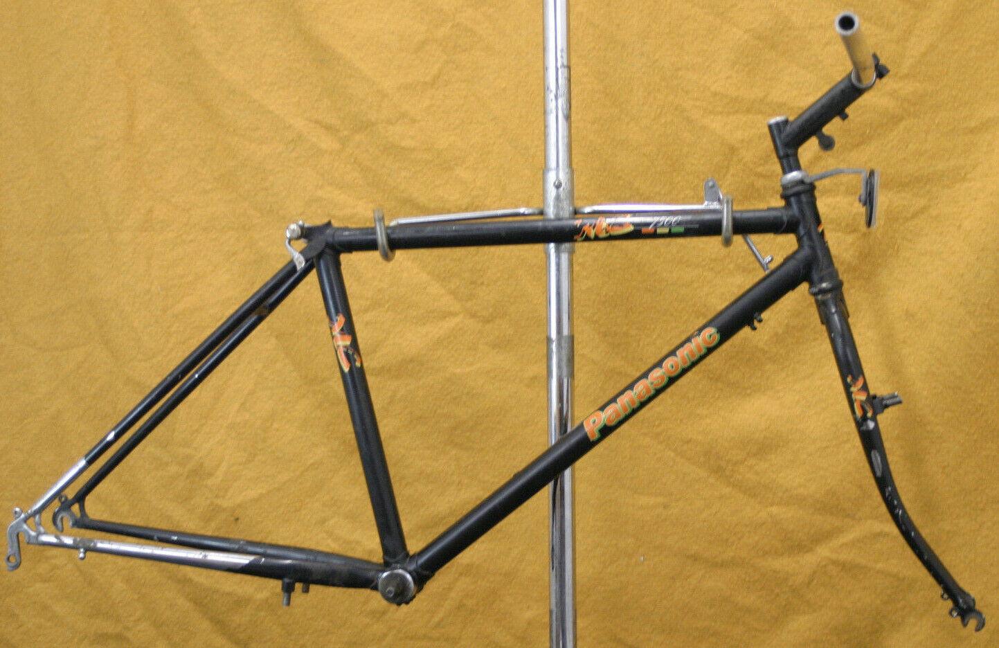 Panasonic MC-7500 Vintage Cuadro para Bicicleta de montaña 16  U-Freno Touring Rasta obras benéficas.