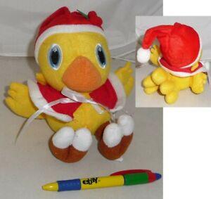 Soft-Toy-15cm-Chocobo-Dress-Christmas-Bird-Yellow-Final-Fantasy-New