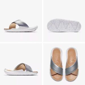 timeless design 9875f 5b1a2 Nike Benassi Future Cross SE Slides Sliders Flip Flops Womens Uk ...
