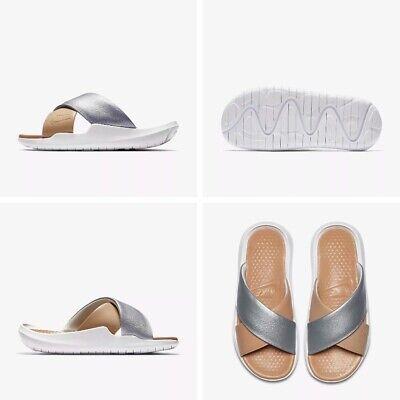Nike Leather Flip Flop Sandal Size UK 2.5 Eur 35.5