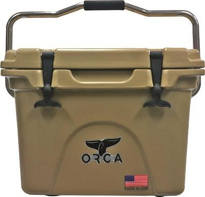 NEW ORCA ORCBL//CH020 BLUE CHARTREUSE 20 QUART INSULATED ICE CHEST COOLER USA