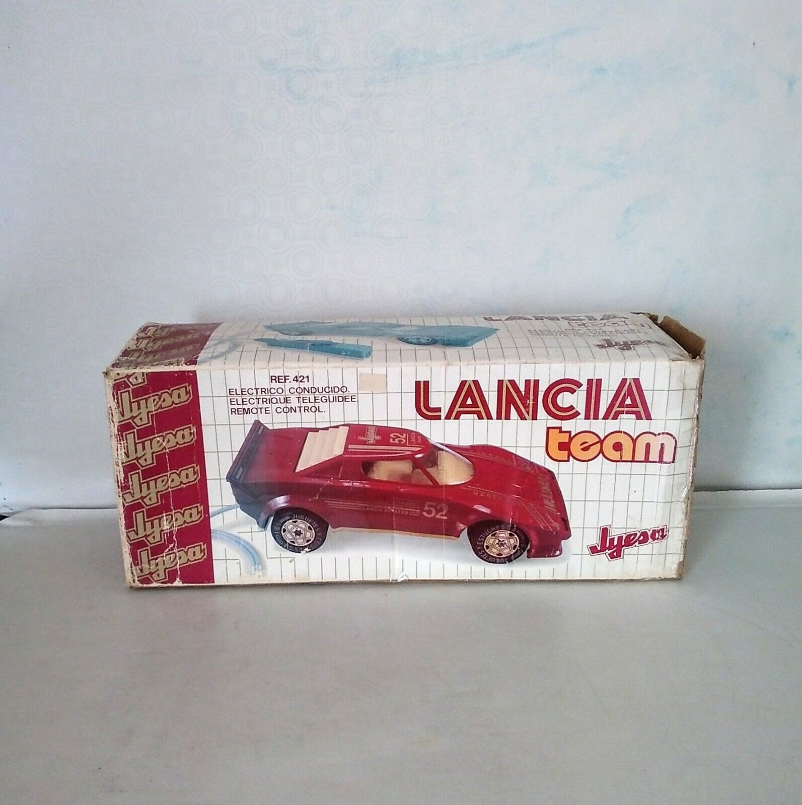 Vintage Large Large Large Remote Lancia  ( Boxed )   Excellent 162a20
