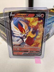Cinderace V [SWSH015] Ultra Rare, Promo, Sword & Shield, Mint/NM, Pokemon TCG