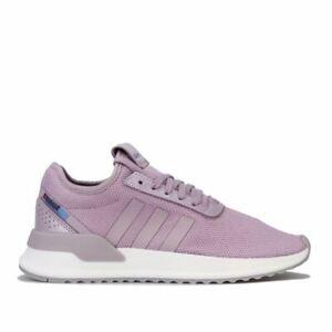Femmes-Adidas-Originals-U-Path-X-Leger-Amorti-Baskets-Violet
