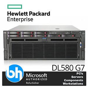 HP-4u-ProLiant-DL580-G7-DOBLE-Ocho-Core-x7560-2-27GHz-Servidor-32gb-RAM-P410