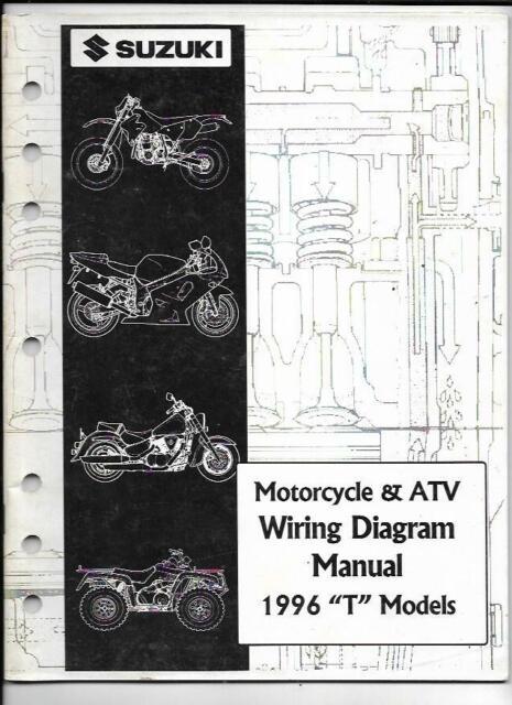 1996 Suzuki  U0026quot T U0026quot  Models Motorcycle  U0026 Atv Wiring Diagram