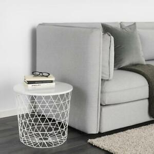 Aufbewahrungstisch-in-weiss-44cm-Beistelltisch-Wohnzimmertisch-Tisch-Nachttisch