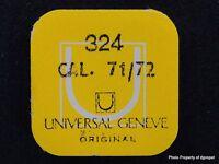 Vintage Universal Geneve Cal 71-72 Incabloc Upper Unit Part 324