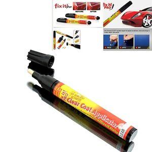stylo crayon efface effaceur rayure carrosserie pr voiture moto scooter fix it ebay. Black Bedroom Furniture Sets. Home Design Ideas