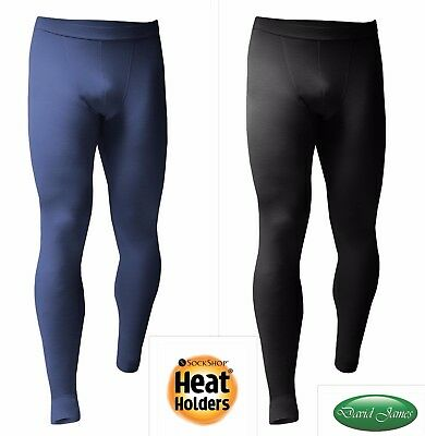 Mens Heat Holders Thermal LIGHTWEIGHT Underwear Long Johns 5 Sizes 2 Colours
