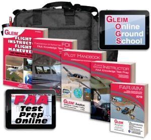GLEIM-FLIGHT-GROUND-INSTRUCTOR-FOI-KIT-W-ONLINE-GROUND-SCHOOL