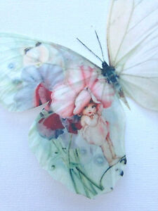 Details about Sweet Pea Butterfly Decals Baby Nursery 3D Butterflies Home  Girls Bedroom Mirror
