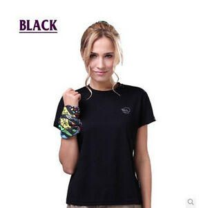 Breathable Dri-Fit Fast Dry Cool Anti Sweat Training Gym Hiking T-Shirt Gray