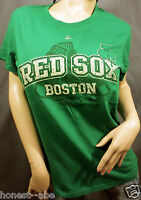 Boston Red Sox I Love Green Distressed Graphic Short Sleeve T Shirt Xl