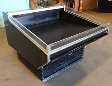 Barker Co 50w Self Service Refrigerated Produce Deli Cold Case Merchandiser
