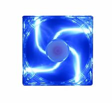 120mm 25mm New Blue LED Case Fan Kit 120V AC 85CFM 12025 Cooling 2 pin 1468*