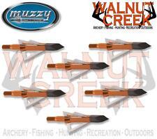 Muzzy 100 Grain 3-Blade Screw-In Crossbow Broadhead 6-Pack #225X