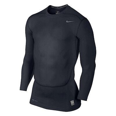 Nike Pro Core Compression 2.0 Shirt II black grey 449794 477   eBay