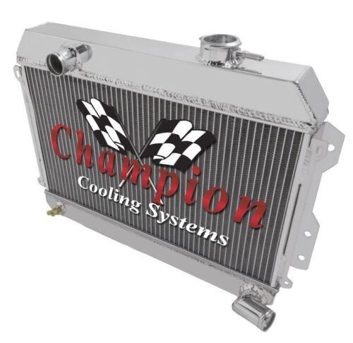 "2 Row 1/"" AR Champion Radiator for 1968-1973 Datsun Nissan 510"