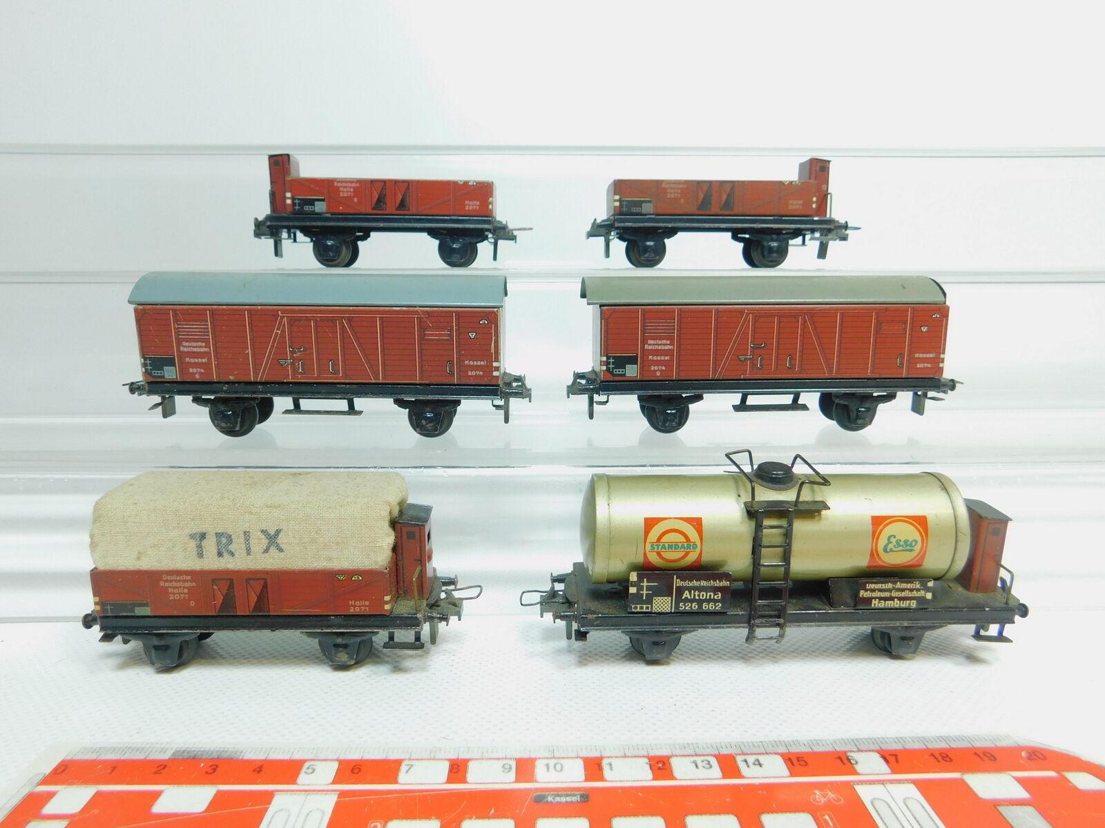 BM155-1x Trix Express H0 H0 H0 DC Güterwagen DRG  2074 + 2071 + Essolub 526 662 899c95