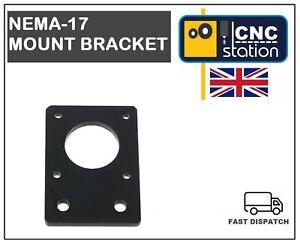 Nema-17-42mm-Stepper-Motor-Mount-Flat-Bracket-Plate-Alloy-CNC-3D-Printer-UK