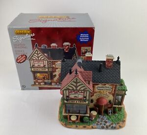 RETIRED Used Lemax 2011 Churchill's Bakery & Bistro Signature Collection Village