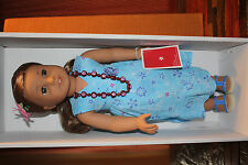 American Girl Doll Kanani In Box with Book Only Displayed