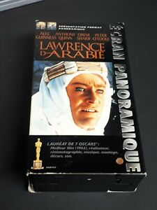 Lawrence-Of-Arabia-1962-VHS-French-Version-Oscard-Awards