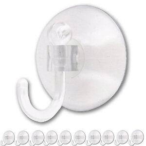 10 Pack 25mm Window Suction Cup Hooks Sucker Hanger Smallclear