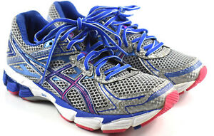 Details about Asics GT-1000 Women's Pink Blue Gray Silver Athletic Running  Shoes Size 7