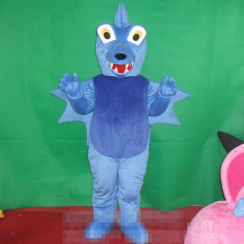 Details about  /Dragon Mascot Costume Cosplay Dress Clothing Advertising Carnival Halloween