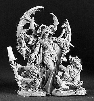 Reaper Miniatures Dark Heaven Legends 03126 Ghoul Queen & Servants