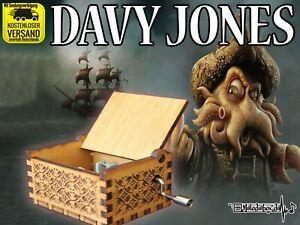 DAVY-JONES-Fluch-der-Karibik-Spieluhr-Musikuhr-Musicbox-Spieldose-Neu-Fanartikel