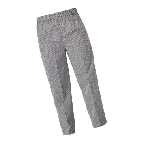 Comfortable Chef Cooks Waiter Trousers Pants Restaurant Uniform Stain Resistant